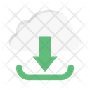 Cloud Download Save Icon