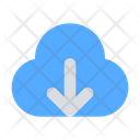 Cloud Down Storage Cloud Icon