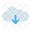 Cloud Download Receive Icon