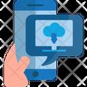 Cloud Download Cloud Shop Icon