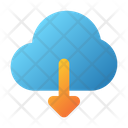 User Interface Download Data Icon