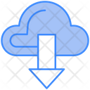 Cloud Download Cloud Data Download Cloud Icon