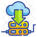 Cloud Download Download Server Download Icon