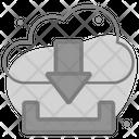 Cloud Download Storage Icon