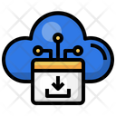 Cloud Download Download Data Icon