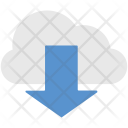 Download Cloud Downloading Icon