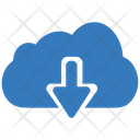 Cloud downloading Icon