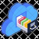 Cloud Computing Cloud Drawer Cloud Books Icon