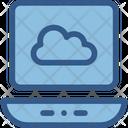 Cloud Drive Connection Laptop Icon