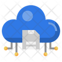 Cloud Drive Floppy Disk Technology Icon