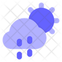 Cloud-drizzel Icon