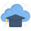 Cloud Education Icon