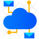 Cloud Email Cloud Mail Cloud Communication Icon