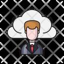 Employee Profile Cloud Icon