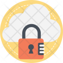 Cloud Encryption Icon