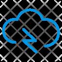 Cloud Energy Cloud Network Icon