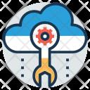 Cloud Engineering Based Icon
