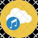 Cloud entertainment Icon