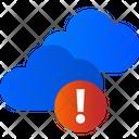 Cloud Error Cloud Warning Warning Icon