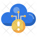 Cloud Error Cloud Alert Error Icon