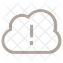 Cloud Error Icon
