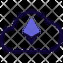 Cloud Ethereum Icon