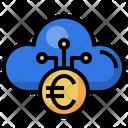 Cloud Euro Euro Ui Icon