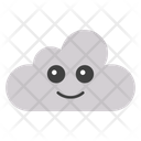 Cloud Face Icon