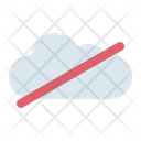 Cloud Failed Problem Icon