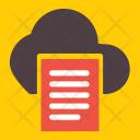 Cloud File Files Icon