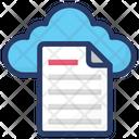 Cloud File Cloud Document Cloud Computing Icon