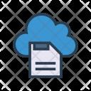 Floppy Cloud Server Icon