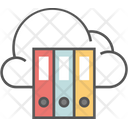 Education Cloud Education Cloud Library Icon