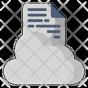 Cloud Education Online Icon