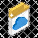 Cloud File Cloud Document Cloud Archive Icon