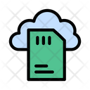 File Cloud Database Icon