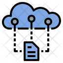 Cloud Information Document Icon
