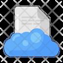 Cloud File Cloud Computing Cloud Data Icon