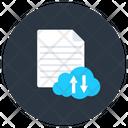 Cloud File Cloud Data Cloud Document Icon