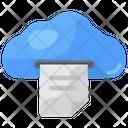 Cloud Document Cloud File Cloud Info Icon