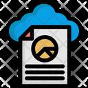 Cloud File Cloud Analysis Cloud Analytics Icon