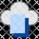 Cloud File Online File Cloud Document Icon