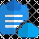 Cloud File Cloud Document Cloud Icon