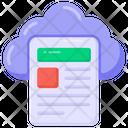 Cloud File Cloud Page Cloud Computing Icon