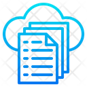 Data File Cloud Icon