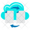 Cloud File Sharing Cloud Sharing Cloud Document Icon