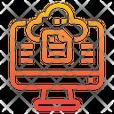 Computer File Storage Icon