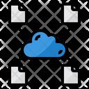 Cloud File Transfer Icon