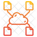 Files Transfer Share Icon