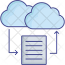 Cloud Files Cloud Data Icon